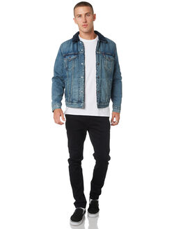 INDIGO LAMB MENS CLOTHING LEVI'S JACKETS - 16365-0067