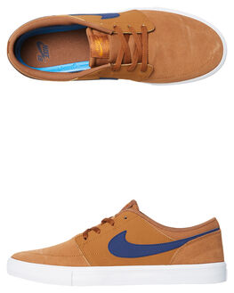 LT BRITISH TAN MENS FOOTWEAR NIKE SNEAKERS - SS880266-202M