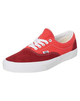RED WOMENS FOOTWEAR VANS SNEAKERS - SSVNA4BV4VXZW