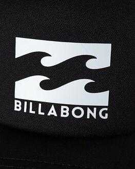 BLACK WHITE MENS ACCESSORIES BILLABONG HEADWEAR - 9675306ABKWH