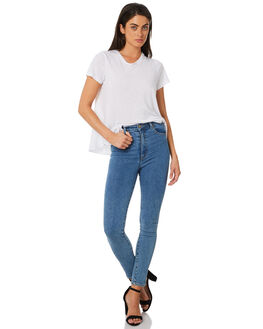 BONDI BLUE WOMENS CLOTHING ROLLAS JEANS - 12683-542