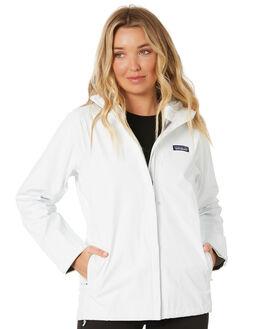 BIRCH WHITE WOMENS CLOTHING PATAGONIA JACKETS - 85245BCW