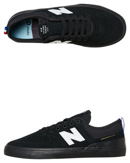 BLACK MENS FOOTWEAR NEW BALANCE SKATE SHOES - NM379GNYBLK