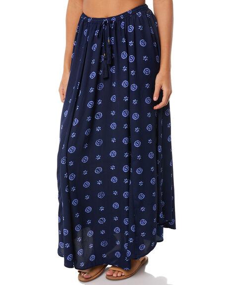 INDIGO DOT WOMENS CLOTHING O'NEILL SKIRTS - 4722407-IDD