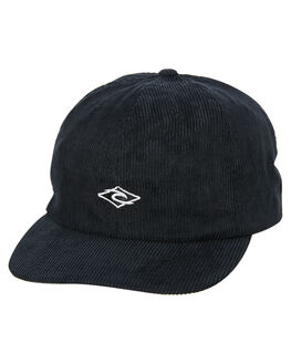WASHED BLACK MENS ACCESSORIES RIP CURL HEADWEAR - CCAAH98264