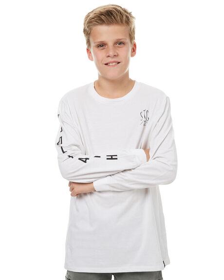 WHITE KIDS BOYS ST GOLIATH TEES - 2491002WHT