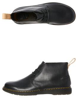 BLACK MENS FOOTWEAR DR. MARTENS BOOTS - SS23949001BLKM
