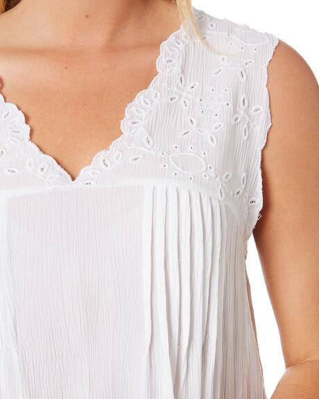 WHITE WOMENS CLOTHING RIP CURL FASHION TOPS - GSHDM91000