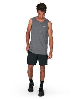 CHARCOAL HEA MENS CLOTHING RVCA SINGLETS - RV-R307001-C94