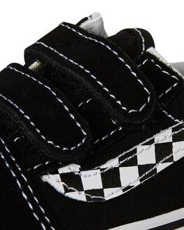 BLACK KIDS TODDLER BOYS VANS FOOTWEAR - VNA344KUJJBLK