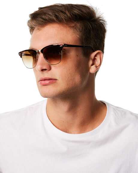 GOLD TOP HAVANA MENS ACCESSORIES RAY-BAN SUNGLASSES - 0RB3716GLDHV