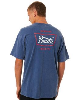 DEEP BLUE MENS CLOTHING BRIXTON TEES - 06560DPBLU