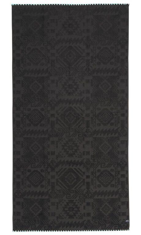 BLACK MENS ACCESSORIES SLOWTIDE TOWELS - ST092BLK