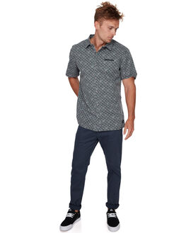 TARMAC CHECKER MENS CLOTHING QUIKSILVER SHIRTS - EQYWT03759KTA6