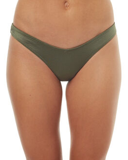 KHAKI WOMENS SWIMWEAR BILLABONG BIKINI BOTTOMS - 6571715XKHK