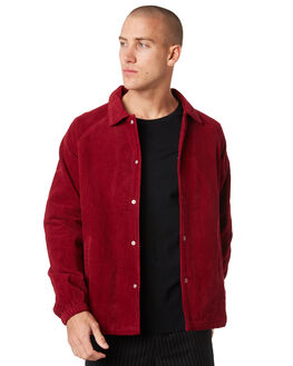 RED MENS CLOTHING MISFIT JACKETS - MT096500RED