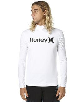 WHITE SURF RASHVESTS HURLEY MENS - AMRVORLSWHT