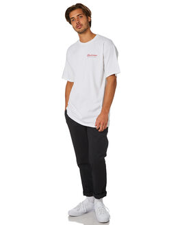 WHITE MENS CLOTHING HUF TEES - TS00745-WHITE