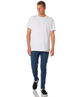 CORE BLUE MENS CLOTHING CHEAP MONDAY JEANS - 0607954CORE
