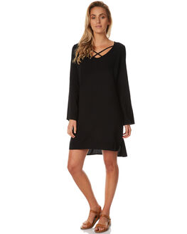 BLACK WOMENS CLOTHING ALL ABOUT EVE DRESSES - 6401025BLK
