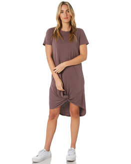 GRAPE WOMENS CLOTHING SILENT THEORY DRESSES - 6008016GRP