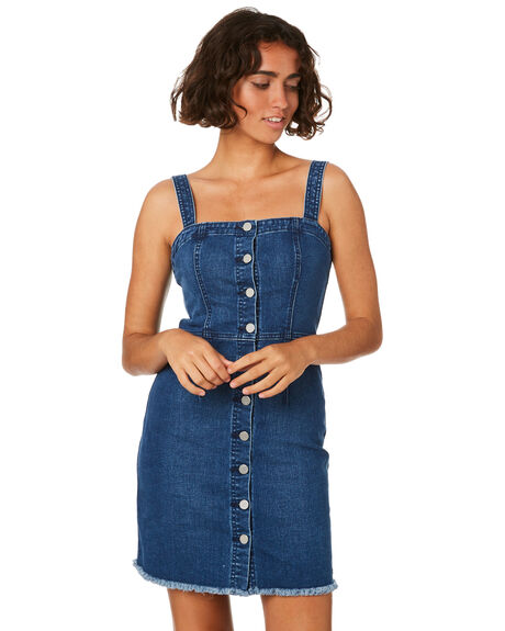 HARBOR BLUE WOMENS CLOTHING VOLCOM DRESSES - B1911903HRB