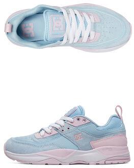 LIGHT BLUE WOMENS FOOTWEAR DC SHOES SNEAKERS - ADJS200015-LBL