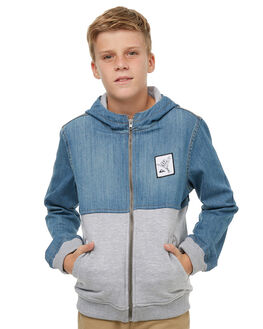 MIDDLE SKY KIDS BOYS QUIKSILVER JUMPERS + JACKETS - EQBJK03142BSWW