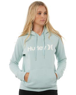 BLUE HAZE WOMENS CLOTHING HURLEY JUMPERS - AGFL170BHZ