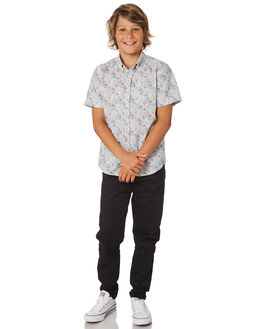 BLACK KIDS BOYS ACADEMY BRAND PANTS - B19S104BLK