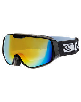 BLK ORANGE REVO SNOW ACCESSORIES CARVE GOGGLES - 6055BKOR
