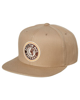 KHAKI BROWN MENS ACCESSORIES BRIXTON HEADWEAR - 00267KHBRN