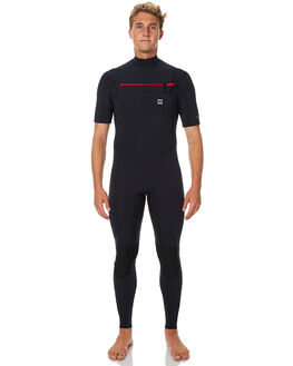 BLACK SURF WETSUITS BANKS STEAMERS - WRU0008BLK