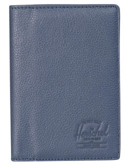 NAVY PEBBLED MENS ACCESSORIES HERSCHEL SUPPLY CO WALLETS - 10373-00776-OSNVY