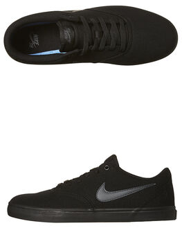 BLACK ANTHRACITE MENS FOOTWEAR NIKE SNEAKERS - SS843896-002M