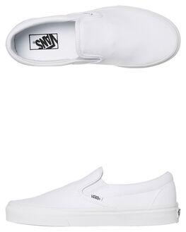 TRUE WHITE WOMENS FOOTWEAR VANS SNEAKERS - SSVN-0EYEW00TRUEW