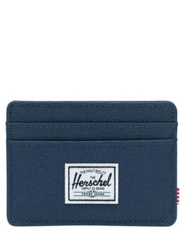 NAVY MENS ACCESSORIES HERSCHEL SUPPLY CO WALLETS - 10360-00007-OSNVY