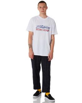 NAVY MENS CLOTHING STUSSY PANTS - ST086607NVY