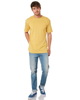 MUSTARD MENS CLOTHING AS COLOUR TEES - 5001MUSTA