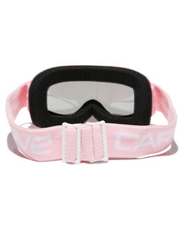 POWDER PINK GREY BOARDSPORTS SNOW CARVE GOGGLES - 6142POPNK