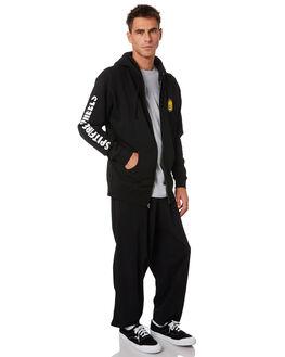 BLACK MENS CLOTHING SPITFIRE JUMPERS - 53210107BLK