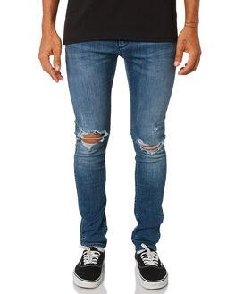 SHAKEDOWN BLUE MENS CLOTHING WRANGLER JEANS - W-901550-LC6SDBL