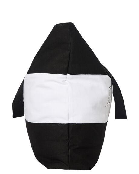 BLACK WHITE WOMENS ACCESSORIES HUFFER BAGS + BACKPACKS - ABA84J4501BLK