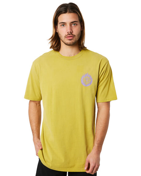 OLIVE MENS CLOTHING VOLCOM TEES - A4341804OLV