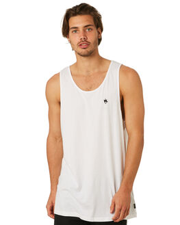 WHITE MENS CLOTHING AFENDS SINGLETS - M184082WHT