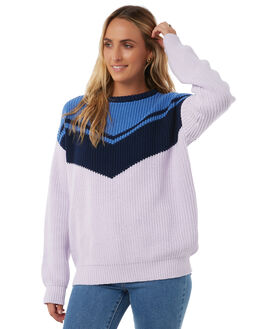 BLUE WOMENS CLOTHING THE HIDDEN WAY KNITS + CARDIGANS - H8173148BLUE
