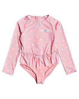 GERANIUM PINK KIDS GIRLS ROXY SWIMWEAR - ERLWR03120-MFZ6