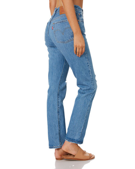ATHENS DESTRUCTION WOMENS CLOTHING LEVI'S JEANS - 12501-0358