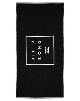 BLACK MENS ACCESSORIES BILLABONG TOWELS - 9681704ABLK