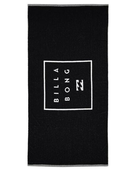 BLACK MENS ACCESSORIES BILLABONG TOWELS - 9681704ABLK